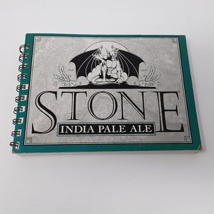♻️ Stone IPA Beer Carton Upcycled Notebook